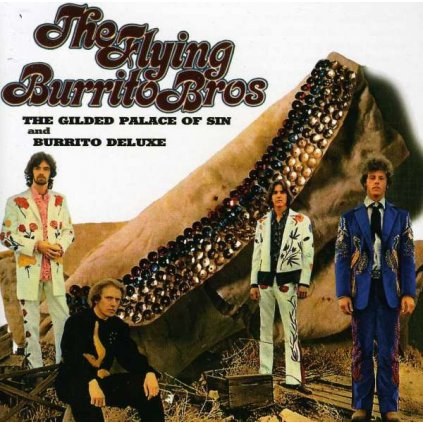 VINYLO.SK | FLYING BURRITO BROTHERS ♫ THE GUILDED PALACE OF SIN [CD] 0731454070423