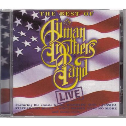 VINYLO.SK | ALLMAN BROTHERS BAND ♫ ALL LIVE [CD] 0731455182422