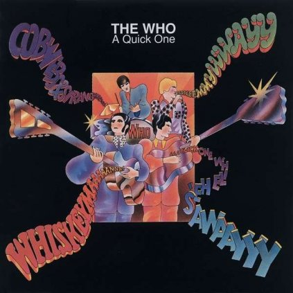 VINYLO.SK | WHO, THE ♫ A QUICK ONE [CD] 0731458980025