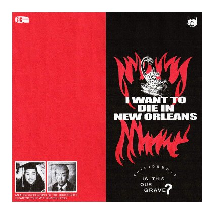 VINYLO.SK | $UICIDEBOY$ ♫ I WANT TO DIE IN NEW ORLEANS [CD] 0842812109119