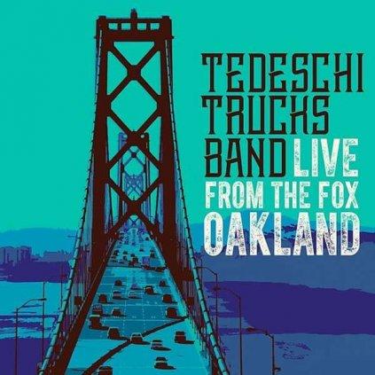 VINYLO.SK | TEDESCHI TRUCKS BAND ♫ LIVE FROM THE FOX OAKLAND [2CD] 0888072023147