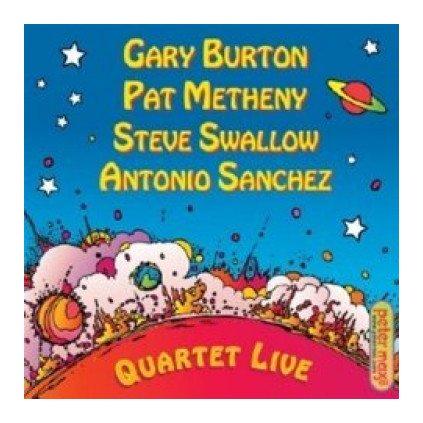 VINYLO.SK | BURTON / METHENY / SWALLOW / SANCHEZ ♫ QUARTET LIVE! [CD] 0888072313033
