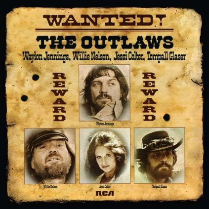 VINYLO.SK | JENNINGS, WAYLON & WILLIE - WANTED! THE OUTLAWS [LP]