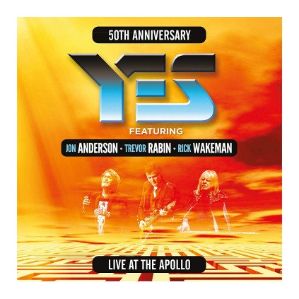 VINYLO.SK | YES ♫ LIVE AT THE APOLLO [2CD] 5034504167629