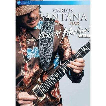 VINYLO.SK | SANTANA, CARLOS ♫ CARLOS SANTANA PLAYS BLUES AT MONTREUX 2004 [DVD] 5036369818296