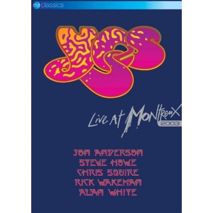 VINYLO.SK | YES ♫ LIVE AT MONTREUX 2003 [DVD] 5036369819590
