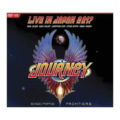 VINYLO.SK | JOURNEY ♫ LIVE IN JAPAN 2017 (ESC4P3 - FRONTIERS) [CD + DVD] 5051300210328