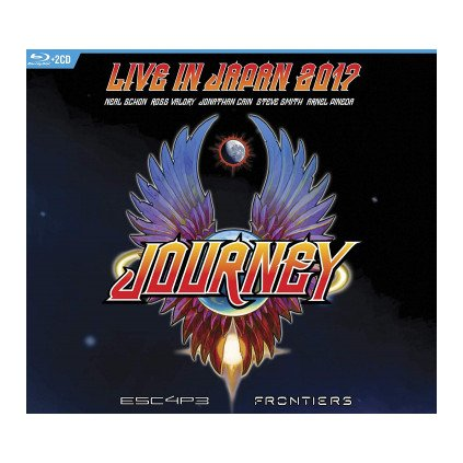 VINYLO.SK   JOURNEY ♫ ESCAPE & FRONTIERS LIVE IN JAPAN 2018 [Blu-Ray] 5051300537777