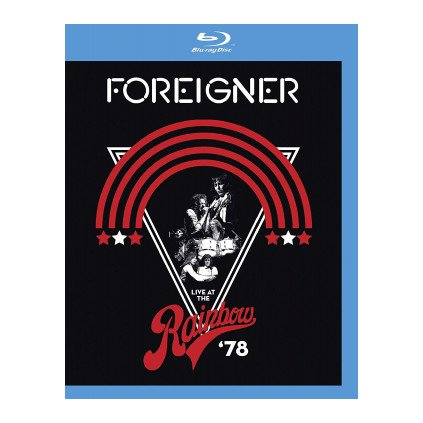 VINYLO.SK | FOREIGNER ♫ LIVE AT THE RAINBOW '78 [Blu-Ray] 5051300537876