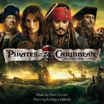VINYLO.SK | OST ♫ PIRATES OF THE CARIBBEAN / 4 [CD] 5099909792524