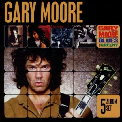 VINYLO.SK | MOORE, GARY ♫ 5 ALBUM SET / BOX SET [5CD] 5099997210528
