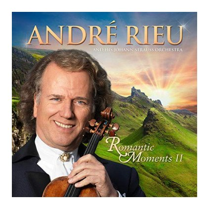 VINYLO.SK | RIEU ANDRÉ ♫ ROMANTIC MOMENTS II [CD] 8719326407906
