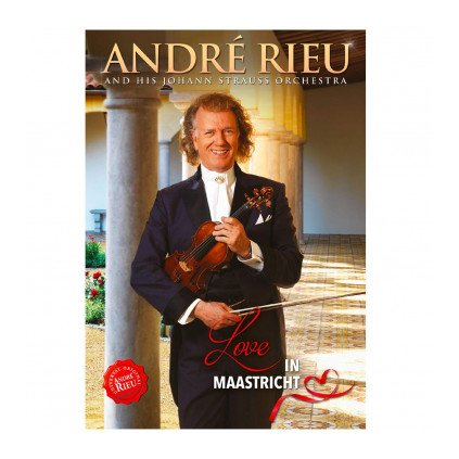 VINYLO.SK | RIEU ANDRÉ ♫ LOVE IN MAASTRICHT [DVD] 8719326407968