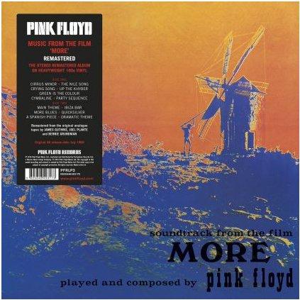 "VINYLO.SK   PINK FLOYD ♫ SOUNDTRACK FROM THE FILM ""MORE"" (stav: VG+/NM) [LP] B0001012"