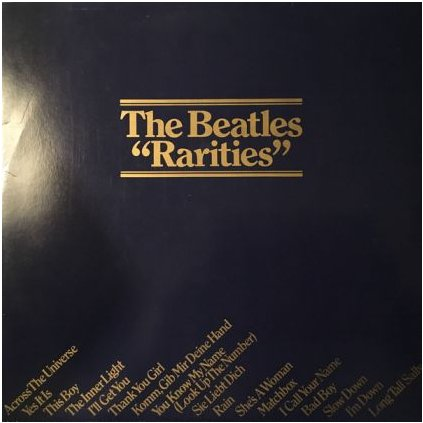 VINYLO.SK | BEATLES, THE ♫ RARITIES (stav: NM/VG+) [LP] B0001061