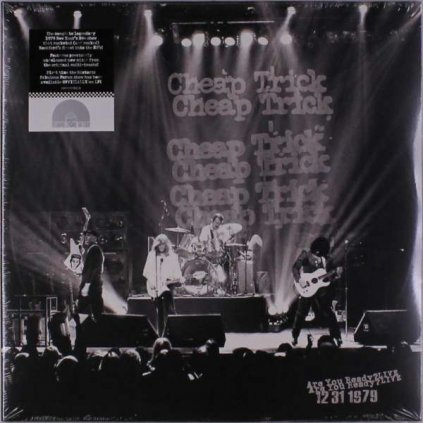 VINYLO.SK   CHEAP TRICK - ARE YOU READY? LIVE 12/31/1979 [2LP]