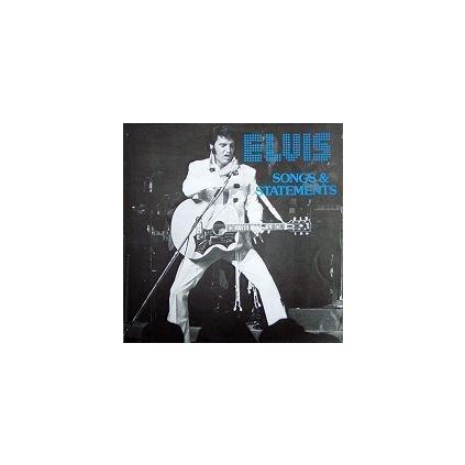 VINYLO.SK   ELVIS PRESLEY ♫ SONGS & STATEMENTS / RARE DK ISSUE (stav: VG+/NM) [LP] B0001094