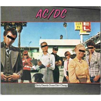 VINYLO.SK | AC/DC ♫ DIRTY DEEDS DONE DIRT CHEAP (stav: VG/VG) [LP] B0001102
