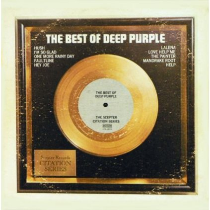 VINYLO.SK | DEEP PURPLE ♫ THE BEST OF DEEP PURPLE (stav: VG+/VG+) [LP] B0001128