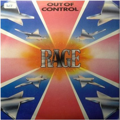 VINYLO.SK | RAGE ♫ OUT OF CONTROL (stav: VG+/VG+) [LP] B0001160