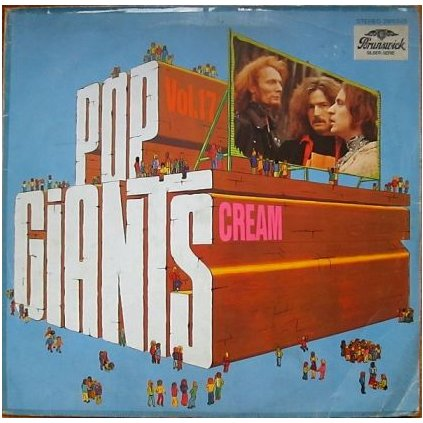 VINYLO.SK | CREAM ♫ POP GIANTS, VOL. 17 (stav: VG+/VG) [LP] B0001252