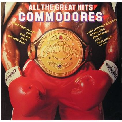 VINYLO.SK | COMMODORES ♫ ALL THE GREAT HITS (stav: VG/VG+) [LP] B0001302