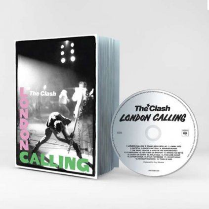 VINYLO.SK | CLASH - LONDON CALLING / Book [CD]