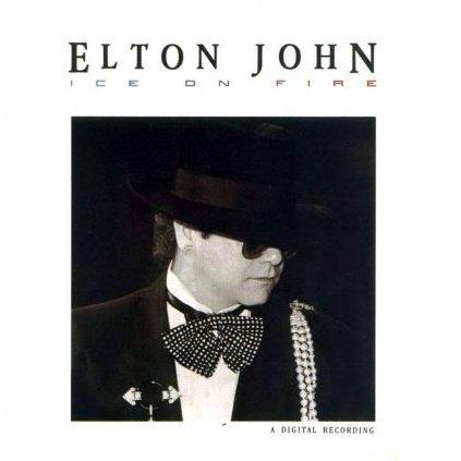 VINYLO.SK | ELTON JOHN ♫ ICE ON FIRE (stav: VG+/NM) [LP] B0001352