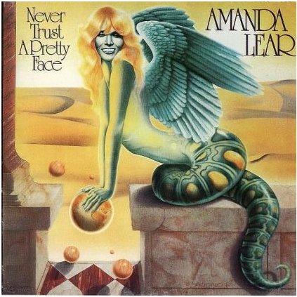 VINYLO.SK | AMANDA LEAR ♫ NEVER TRUST A PRETTY FACE (stav: VG/VG+) [LP] B0001362