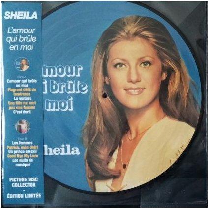 VINYLO.SK | SHEILA ♫ L'AMOUR QUI BRÛLE EN MOI / Picture Disc / Limited Edition (stav: M/M) [LP] B0001392