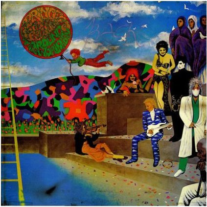 VINYLO.SK | PRINCE AND THE REVOLUTION ♫ AROUND THE WORLD IN A DAY (stav: VG+/G-) [LP] B0001406