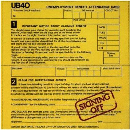 VINYLO.SK | UB40 ♫ SIGNING OFF (stav: VG+/VG+) [LP + EP12inch] B0001430