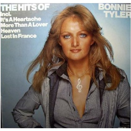 VINYLO.SK | BONNIE TYLER ♫ THE HITS OF BONNIE TYLER (stav: VG/VG+) [LP] B0001465