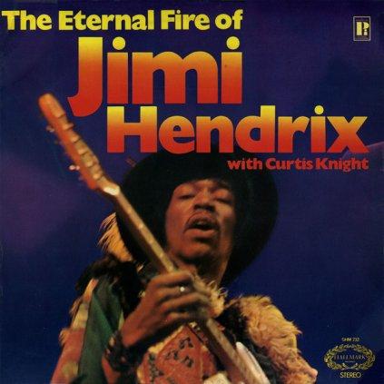 VINYLO.SK | JIMI HENDRIX WITH CURTIS KNIGHT ♫ THE ETERNAL FIRE OF JIMI HENDRIX (stav: VG-/VG+) [LP] B0001926