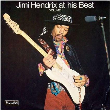 VINYLO.SK | JIMI HENDRIX ♫ JIMI HENDRIX AT HIS BEST (VOLUME 1) (stav: NM/VG) [LP] B0001941