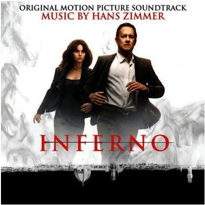 VINYLO.SK   HANS ZIMMER ♫ INFERNO (ORIGINAL MOTION PICTURE SOUNDTRACK) / Limited Edition RED VINYL (stav: VG+/NM) [2LP] B0001973