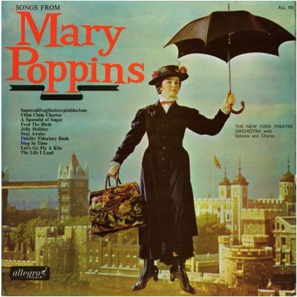 VINYLO.SK | NEW YORK THEATRE ORCHESTRA, THE ♫ SONGS FROM MARY POPPINS (stav: VG+/VG+) [LP] B0001985