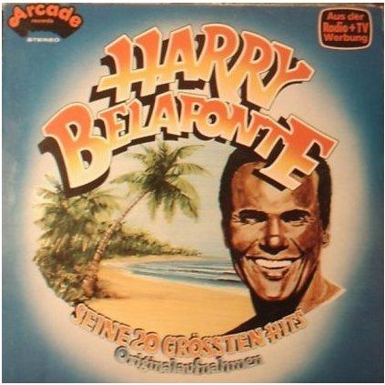 VINYLO.SK | HARRY BELAFONTE ♫ SEINE 20 GRÖSSTEN HITS (ORIGINALAUFNAHMEN) / 1st Press (stav: VG+/VG+) [LP] B0002012