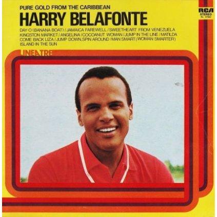 VINYLO.SK | HARRY BELAFONTE ♫ PURE GOLD FROM THE CARIBBEAN (stav: VG/VG+) [LP] B0002015