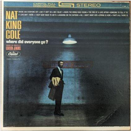 VINYLO.SK | NAT KING COLE ♫ WHERE DID EVERYONE GO? (stav: VG/VG+) [LP] B0002061