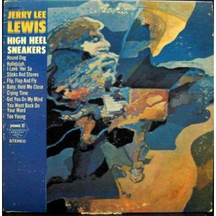 VINYLO.SK | JERRY LEE LEWIS ♫ HIGH HEEL SNEAKERS (stav: VG+/VG) [LP] B0002062