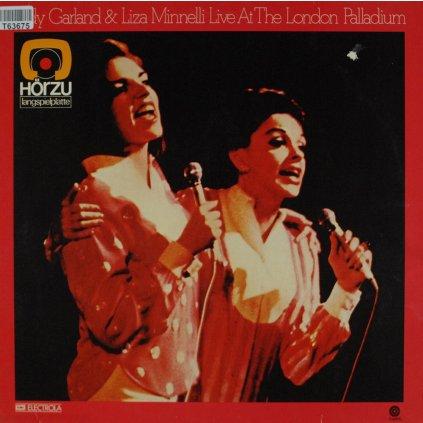 VINYLO.SK | JUDY GARLAND & LIZA MINNELLI ♫ LIVE AT THE LONDON PALLADIUM (stav: VG+/VG-) [LP] B0002070