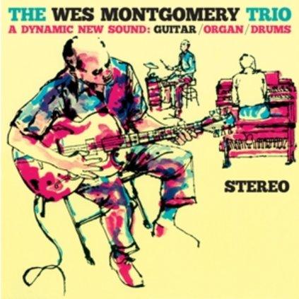 VINYLO.SK | WES MONTGOMERY TRIO, THE ♫ A DYNAMIC NEW SOUND: GUITAR/ORGAN/DRUMS (stav: NM/M) [LP] B0002077