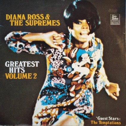 VINYLO.SK | DIANA ROSS & THE SUPREMES ♫ GREATEST HITS VOLUME 2 (stav: VG/VG+) [LP] B0002092