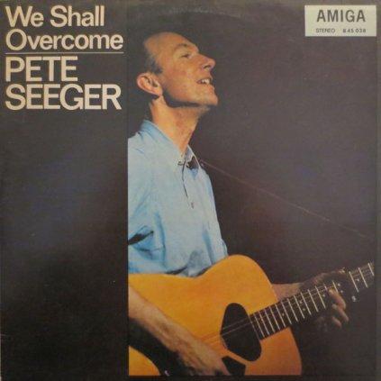 VINYLO.SK | PETE SEEGER ♫ WE SHALL OVERCOME (stav: VG+/VG) [LP] B0002094