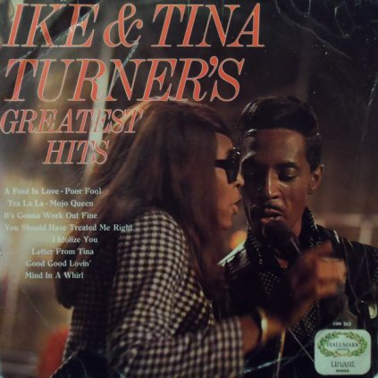 VINYLO.SK | IKE & TINA TURNER ♫ IKE & TINA TURNER'S GREATEST HITS / 1st Press (stav: NM/VG) [LP] B0002103