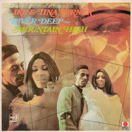 VINYLO.SK | IKE & TINA TURNER ♫ RIVER DEEP - MOUNTAIN HIGH (stav: VG+/VG+) [LP] B0002105