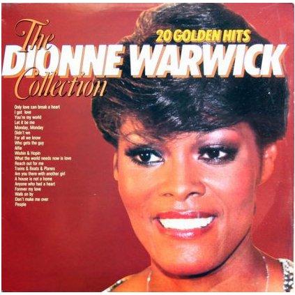 VINYLO.SK | DIONNE WARWICK ♫ 20 GOLDEN HITS, THE DIONNE WARWICK COLLECTION (stav: NM/NM) [LP] B0002111