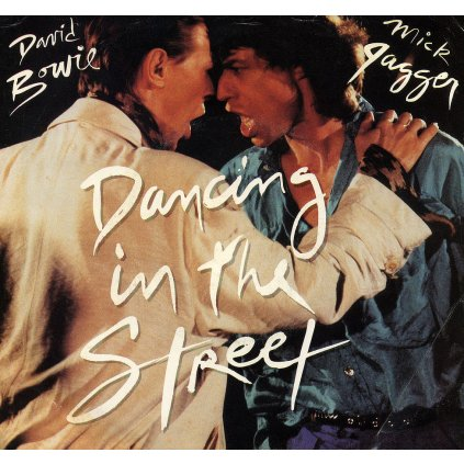 VINYLO.SK | DAVID BOWIE AND MICK JAGGER ♫ DANCING IN THE STREET (stav: VG+/VG+) [EP12inch] B0002136