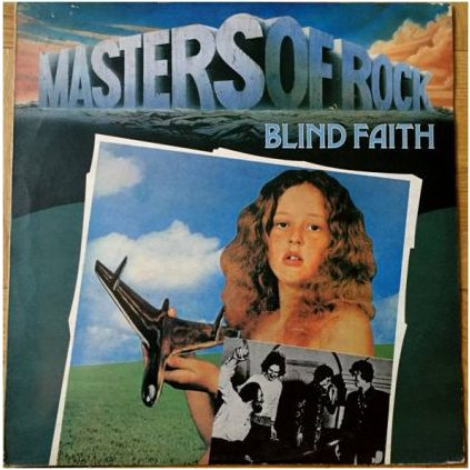 VINYLO.SK | BLIND FAITH ♫ MASTERS OF ROCK (stav: NM/VG) [LP] B0002140